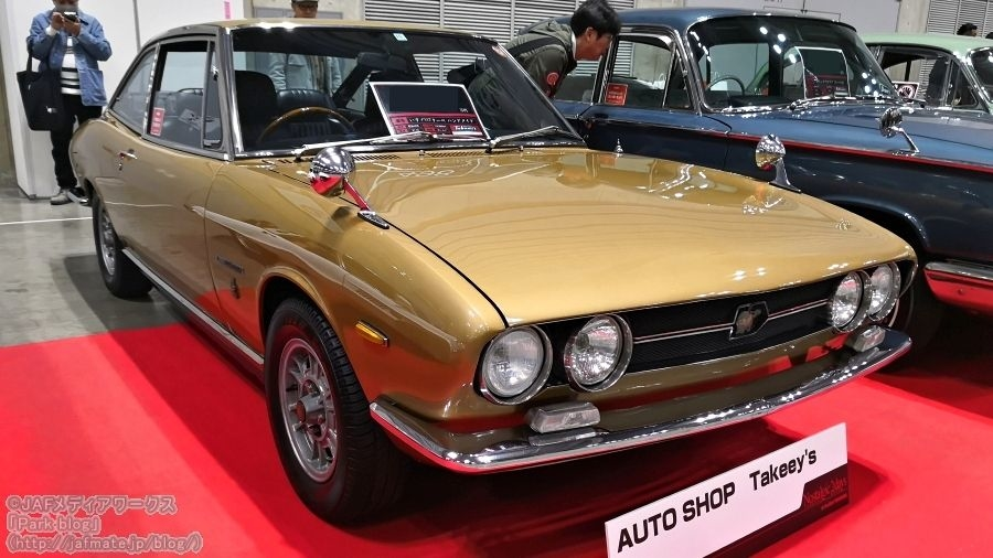 いすゞ 117クーペ PA95型 1971年式|isuzu 117coupe pa95 1971 model year