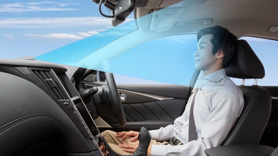 画像4。日産の運転支援技術「プロパイロット2.0」のイメージ。