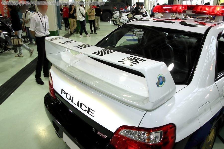 埼玉県警交通機動隊所属パトカー523号車 スバル インプレッサ WRX STi 2003年式