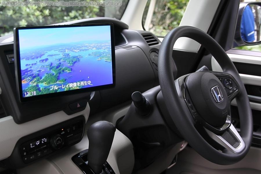 パナソニック製カーナビ ストラーダ2019年新製品 F1X PREMIUM10を装備したホンダ N-BOX