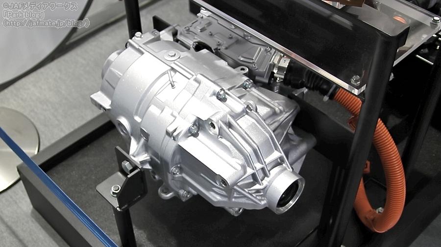 ホンダ 次世代EV用パワートレイン・フロントドライブユニット