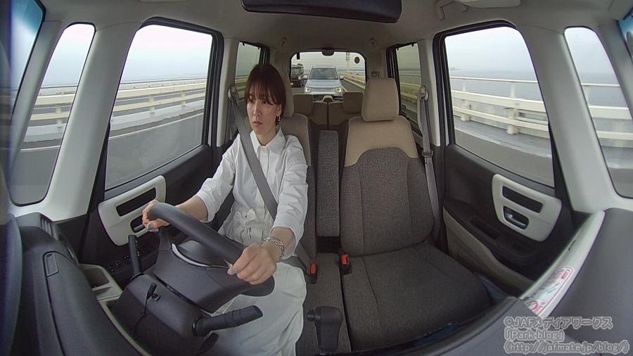 JAFメディアワークス製ドライブレコーダー・ドラドラまるっと撮影映像(後方)