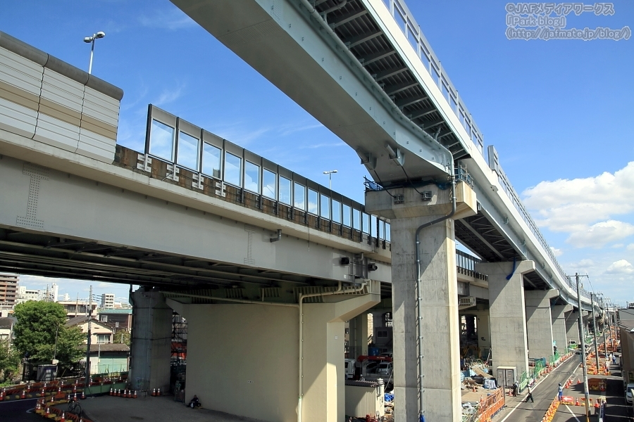 首都高小松川JCT Syutoko Komatsugawa Junction