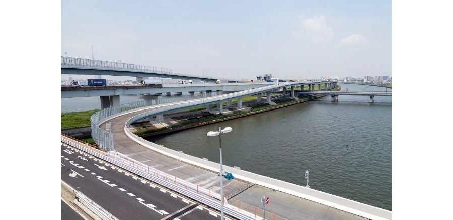 小松川JCTの連絡路