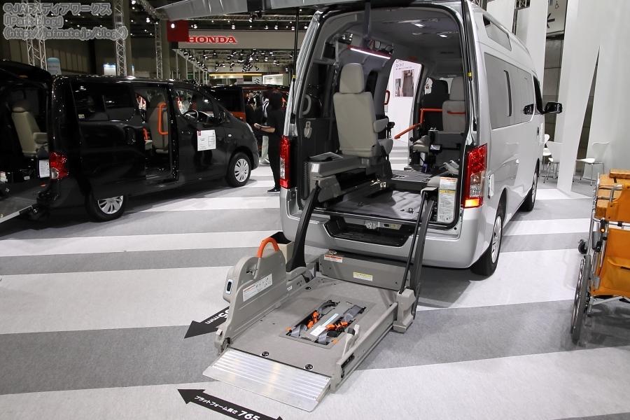 日産 ライフケアビークル NV350キャラバン チェアキャブ 車いす1+1名仕様