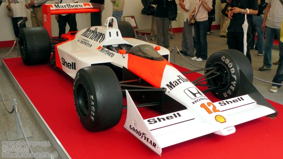 F1 マクラーレン・ホンダ MP4/4 12号車(アイルトン・セナ) 1988年|F1 McLaren Honda MP4/4 No.12 Ayrton Senna 1988