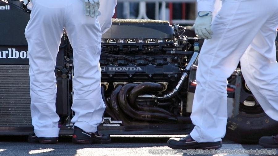 F1エンジン ホンダ V10 RA109E 1989年 F1 Engine Honda V10 RA109E 1989