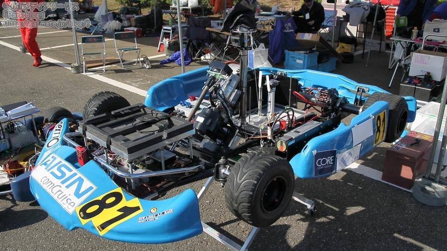 ジャパンEVフェスティバル2018 自動運転車タイムアタック 81号車 MM1号 2018(プロジェクトM)