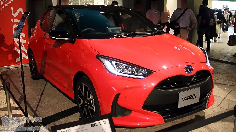 トヨタ 新型ヤリス 東京モーターショー2019出展車両