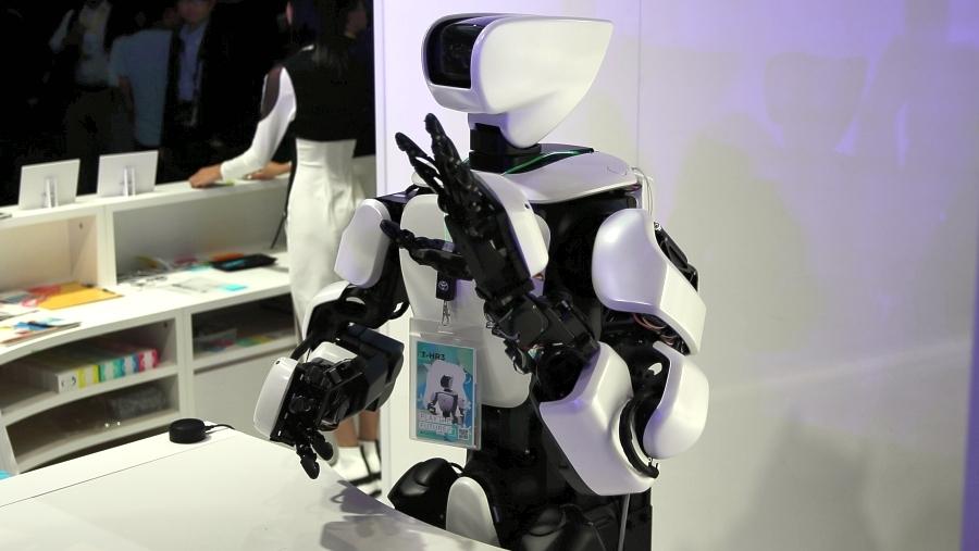 トヨタ T-HR3 東京モーターショー2019出展ロボット