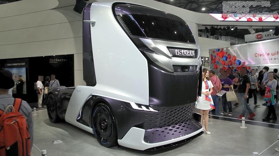 いすゞの東京モーターショー2019出展車両「FL-IR」
