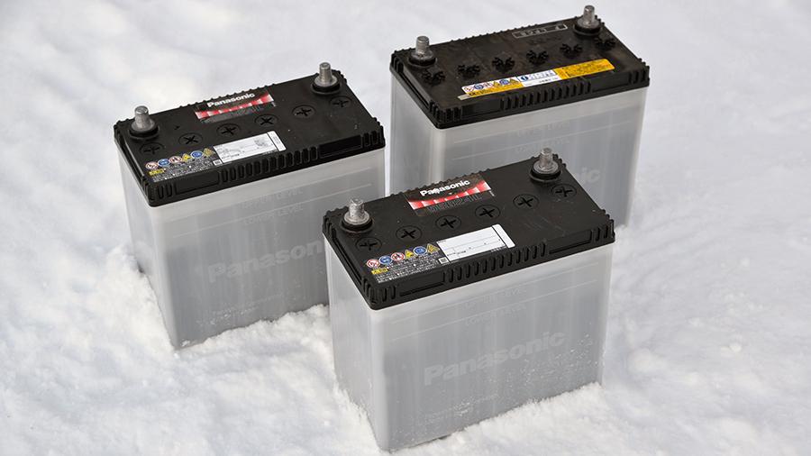 冬のバッテリー
