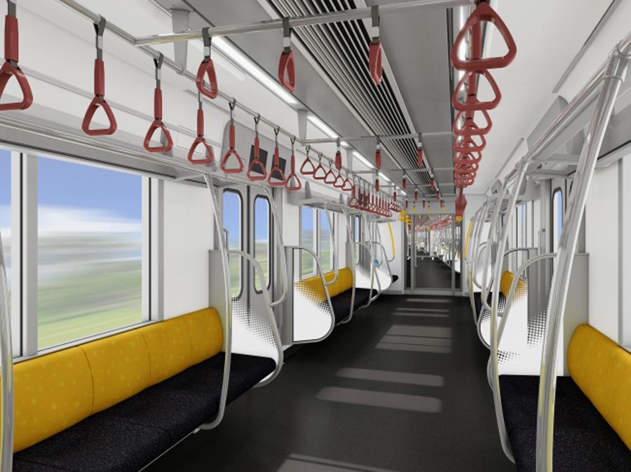 東京メトロ|新型車両|17000系|有楽町線・副都心線|車内イメージ