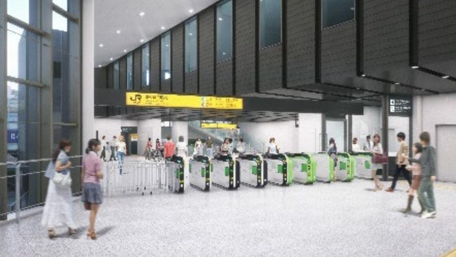 山手線|原宿駅|新駅舎|表参道改札|コンコース