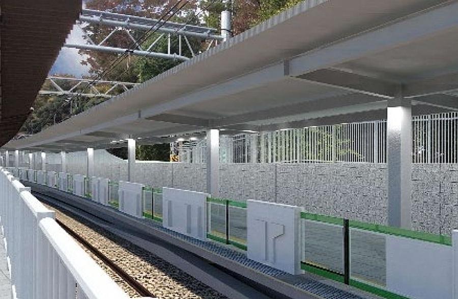 山手線|原宿駅|新ホーム|山手線外回り専用ホーム