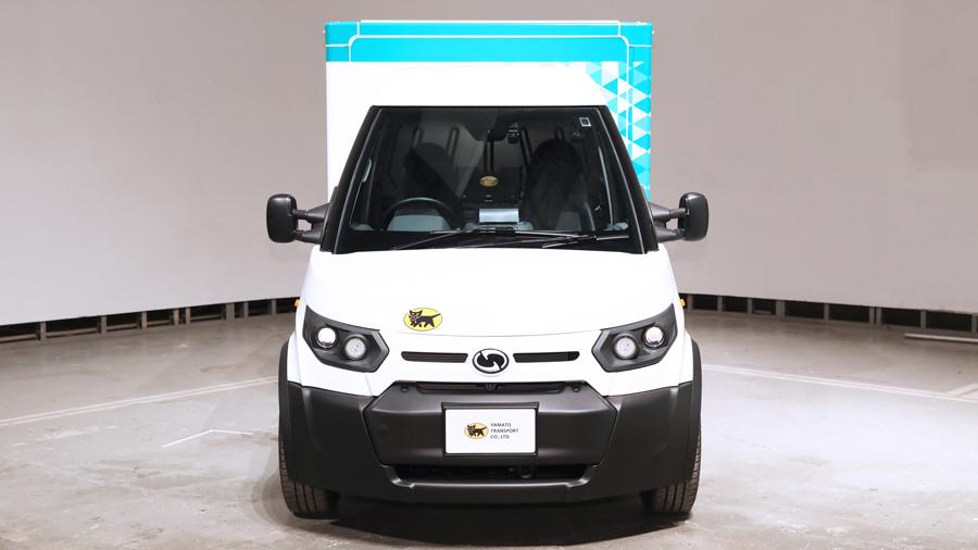 ヤマト運輸|ストリートスクーター社|小型EVトラック|正面|