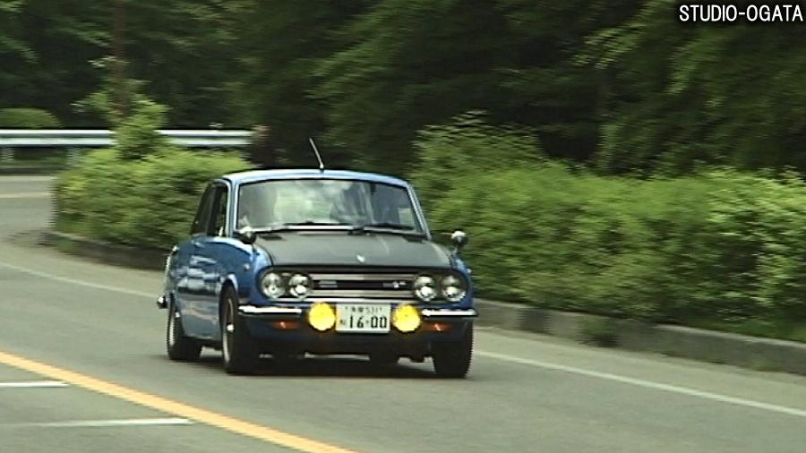 いすゞ「ベレット1600GT Type R」。
