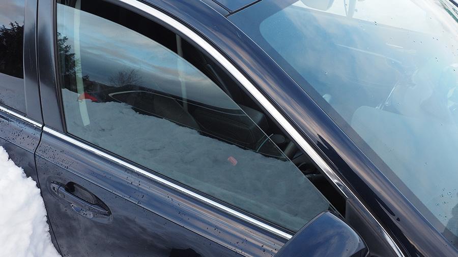 車内CO中毒テスト 窓