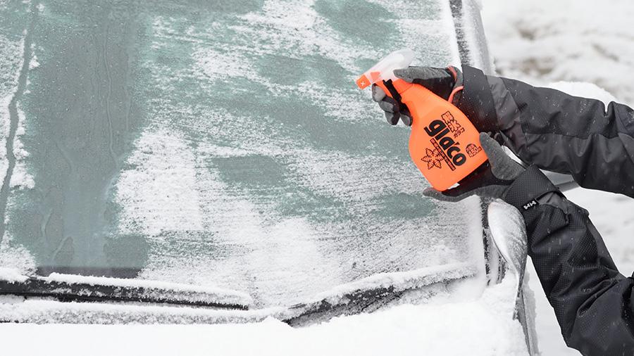 クルマガラス凍結 解氷剤