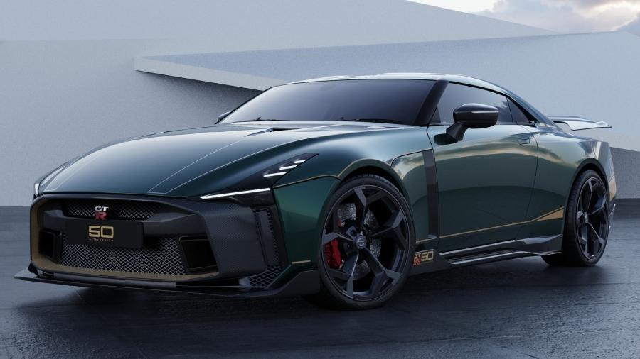 画像1。「Nissan GT-R50 by Italdesign」。