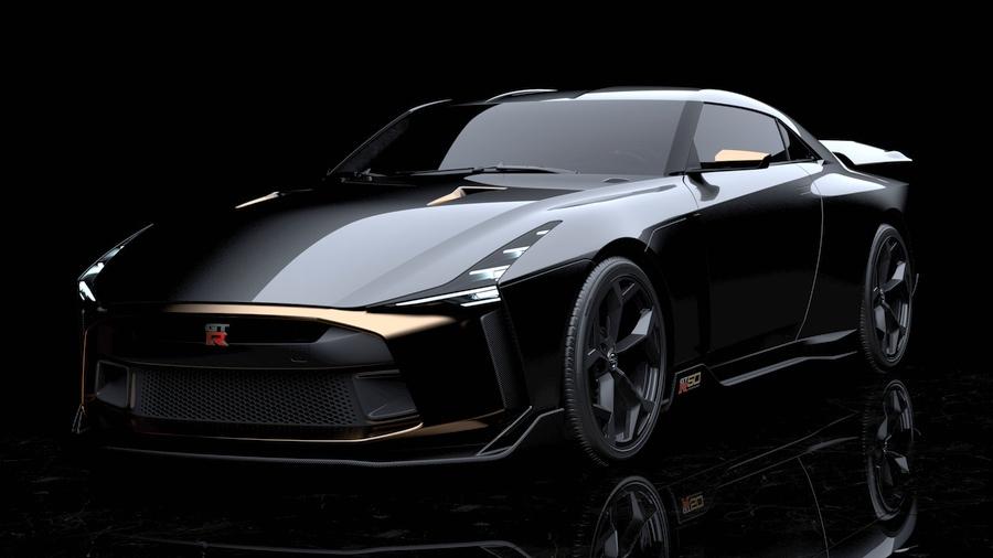 画像3。「Nissan GT-R50 by Italdesign」のプロトタイプ。