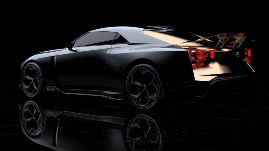 画像4。プロトタイプ「Nissan GT-R50 by Italdesign」のリアビュー。