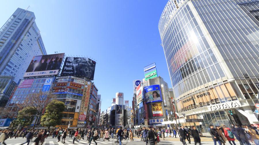 12月31日21時~1月1日14時まで渋谷駅周辺で交通規制が実施。