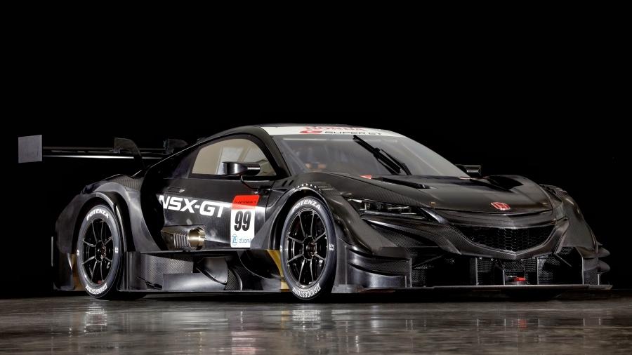 画像9。ホンダが東京オートサロン2020に出展する「NSX-GT」(2020年スーパーGT GT500クラス参戦車両)。
