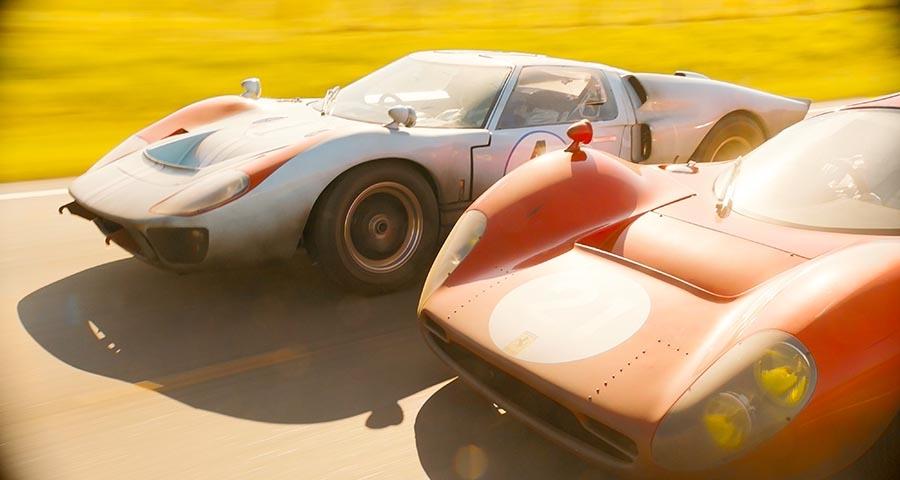 映画「フォードvsフェラーリ」のGT40と330P4