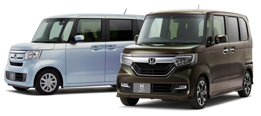 軽自動車|新車販売台数|2019|1位|ホンダ・N-BOX