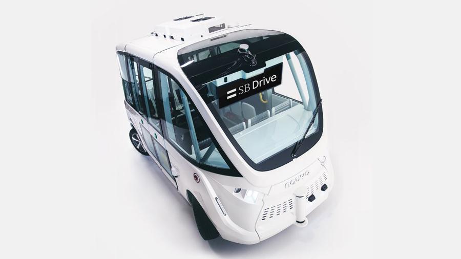 自動運転バス|自律走行|茨城県境町|実用化|NAVYA ARMA|