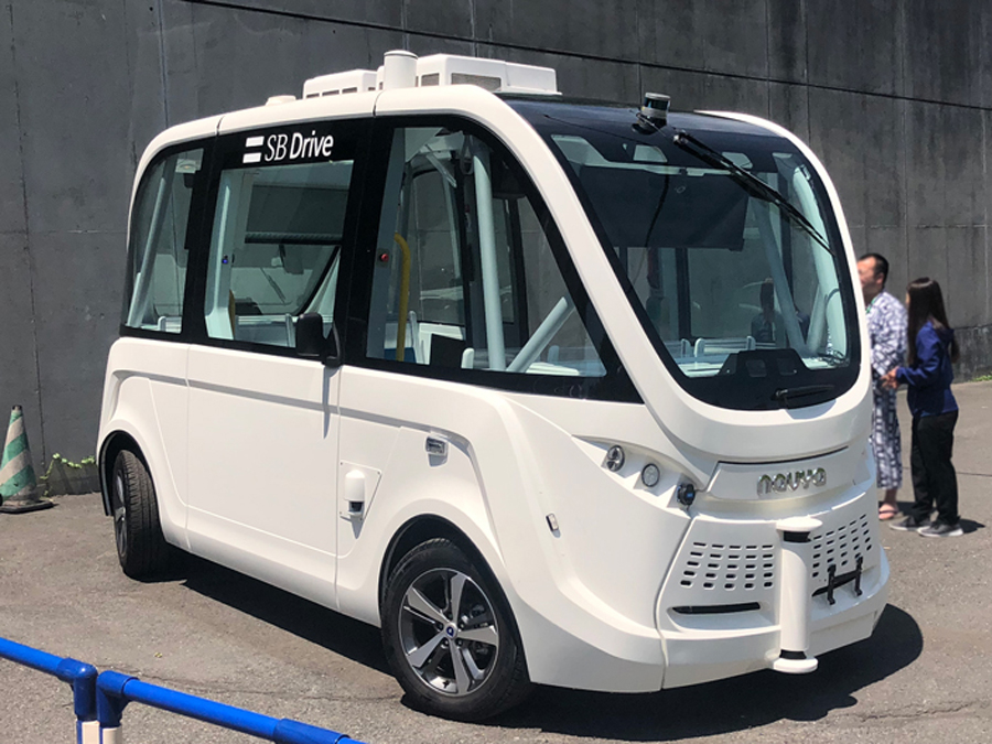 自動運転バス|自律走行|茨城県境町|実用化|NAVYA ARMA|人とくるまのテクノロジー展