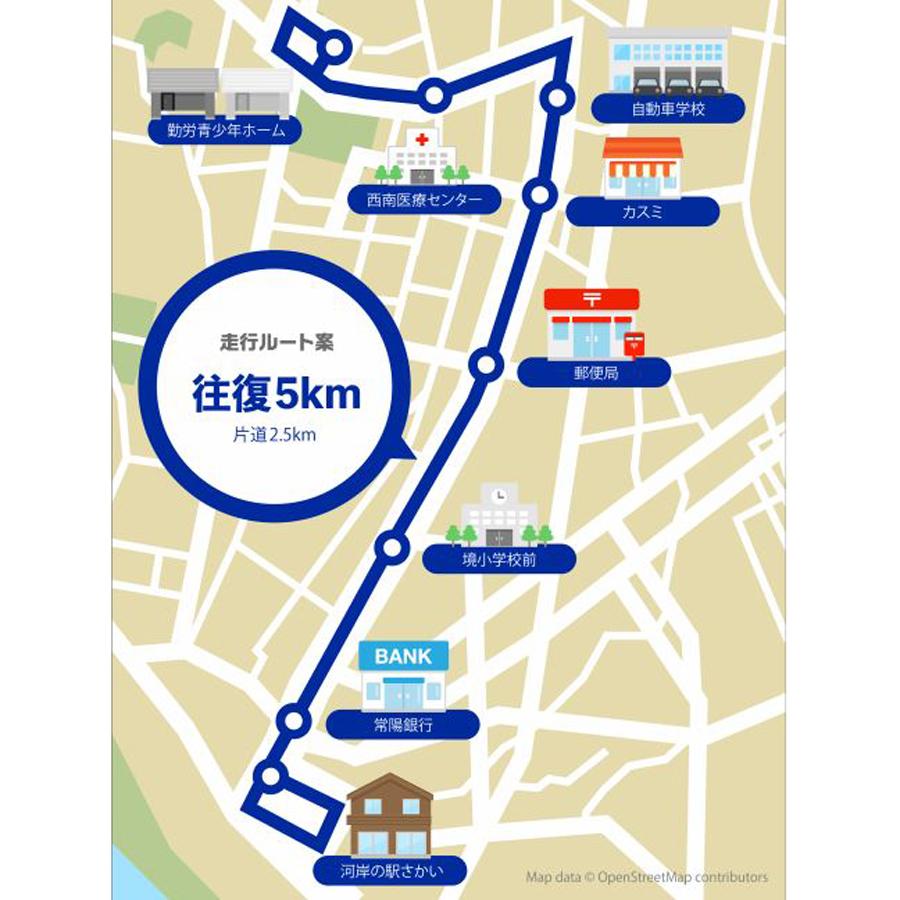 自動運転バス|自律走行|茨城県境町|実用化|NAVYA ARMA|走行ルート