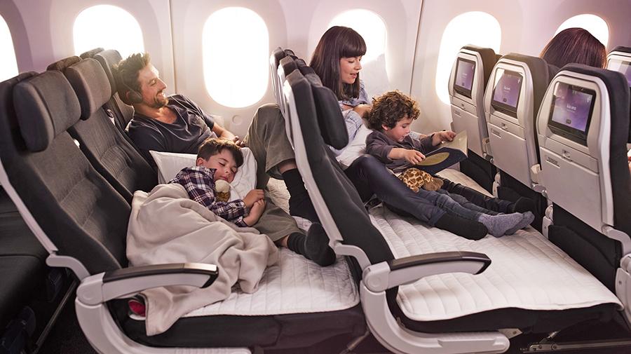 ニュージーランド航空のエコノミークラス「スカイカウ」