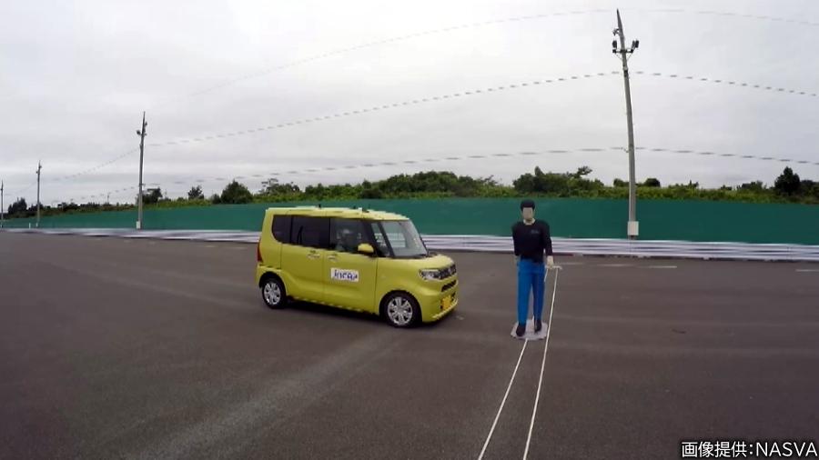 画像3。衝突被害軽減ブレーキは、現在では画像のダイハツ「タント」のように軽自動車にも普及している。