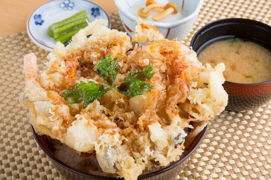 長野道・姨捨SA(下)|レストラン|長芋のかき揚げ丼