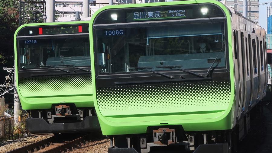 山手線|京浜東北線|線路切替工事|山手線の車両