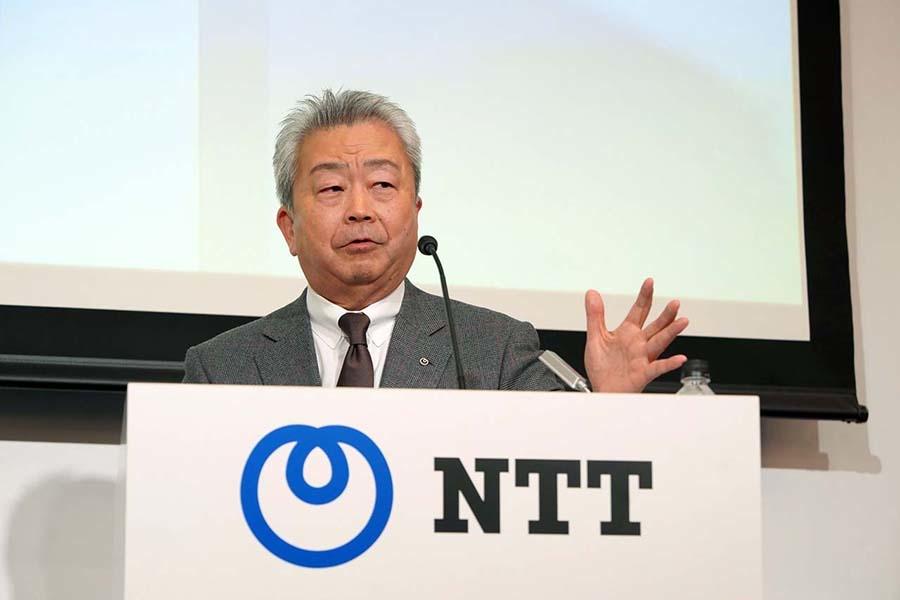 NTTの澤田社長は「モビリティの世界でナンバーワンのトヨタと一緒に住民や社会基盤の構成に貢献していく」と述べた