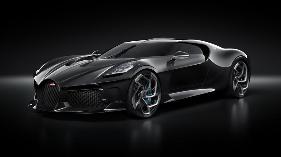 自動車史上最高額の超高級車。約14億円のブガッティ「ラ・ヴォワチュール・ノワール」。