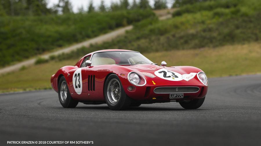 史上最高落札額、約54億円を記録した「フェラーリ 250 GTO」。
