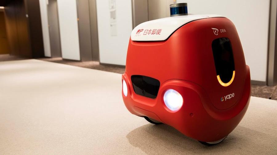 2020年3月3日~4日にかけて、日本郵便は配送ロボット「YAPE」の自律移動による実証実験を実施した。