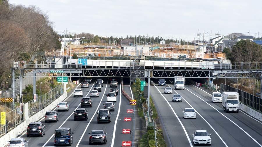 高速道路と名が付く路線は全国に4路線のみ。
