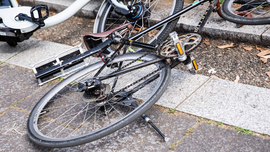 自転車|あおり運転|改正|道交法|妨害運転|自転車同士の事故のイメージ