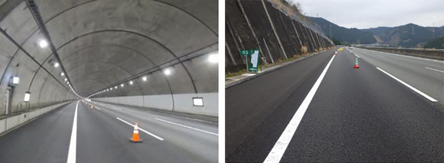 新東名高速道路で6車線化