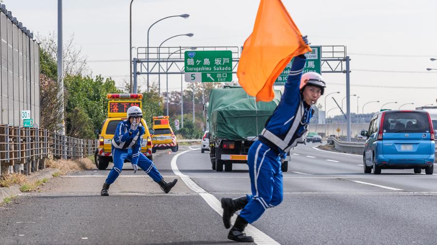 高速道路|落下物|ランキング|道交法|落下物処理をする交通管理隊