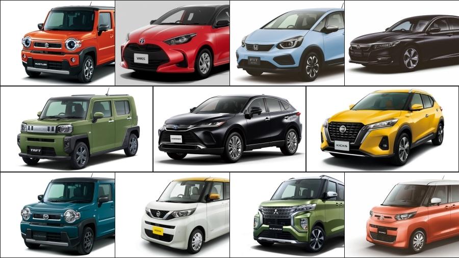 2020年前半に発売された新車たち。