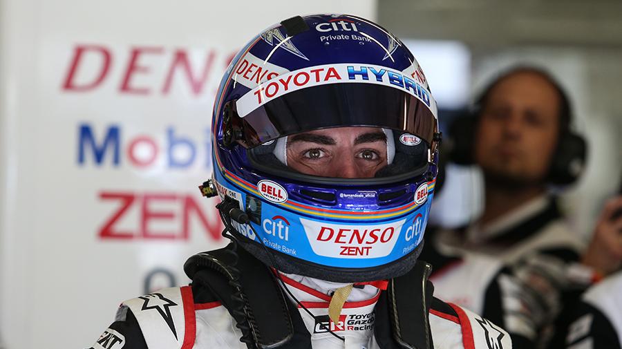 F1モナコGP、ル・マンを優勝しているアロンソ