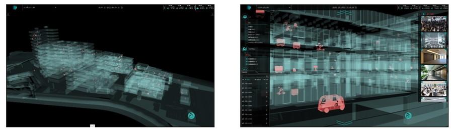 空間情報データ連携基盤「3D K-Field」の表示画面