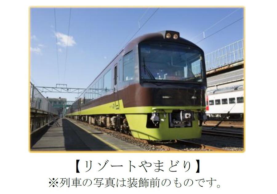 東京方面から高崎駅まで運行する臨時列車「リゾートやまどり」