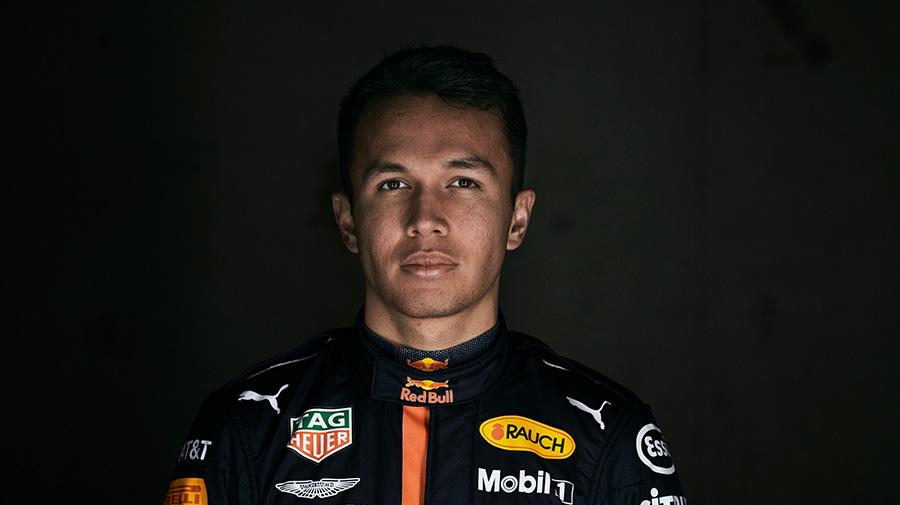 F1レッドブル・レーシングのアレックス・アルボン